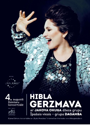"Hibla Gerzmava with the program ""Jazz and Classic"" in Latvia. Jurmala"