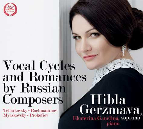 Vocal cycles and romances by Tchaikovsky, Rachmaninov, Myaskovsky and Prokofiev